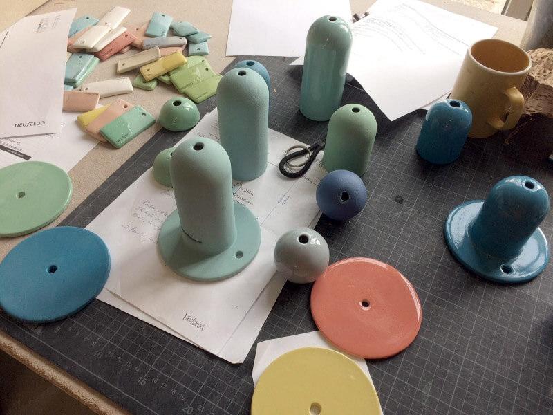 """Erste """"Design your own Lamp"""" Workshop"""