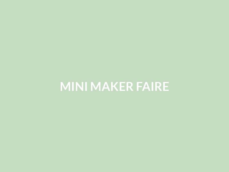 Neu/Zeug @ Mini Maker Fair