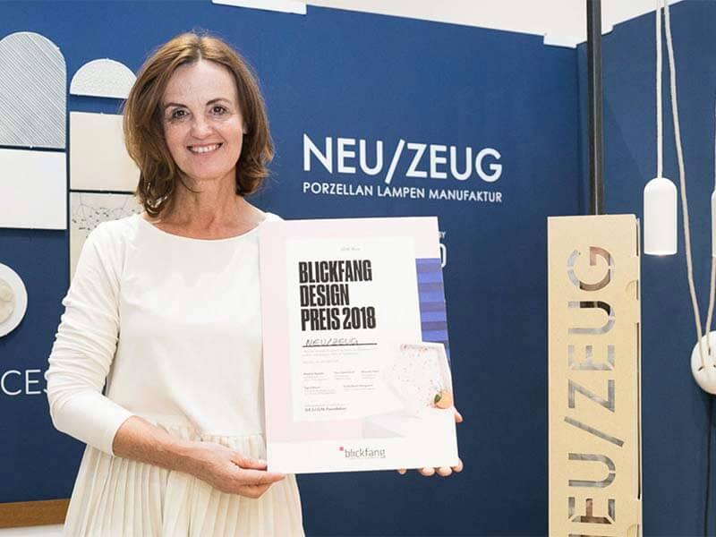 WE WON THE Blickfang DesignPreis 2018